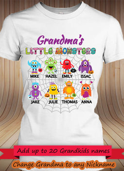 Little Monsters! White/Pink - Gifts4family