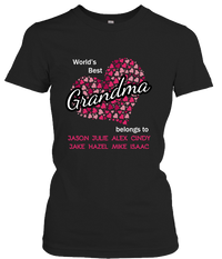 World's Best Grandma!! - Gifts4family