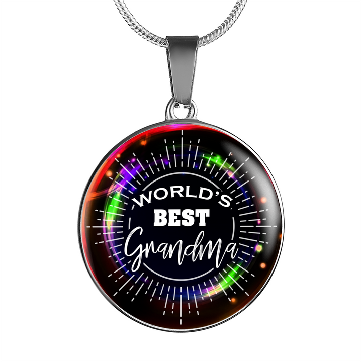 World's Best Grandma - Round