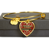 Blessed Grandma Bracelet - Real 18k Gold Finish