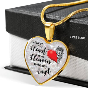 Heart is in Heaven - Necklace