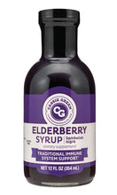 Load image into Gallery viewer, Elderberry Syrup 12oz