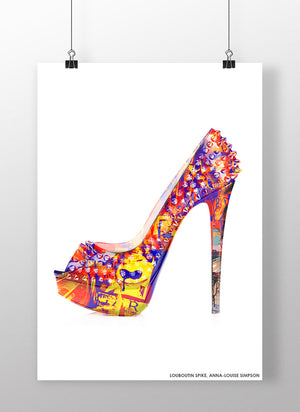 Spike Louboutin | Anna-Louise Simpson | Female Artist