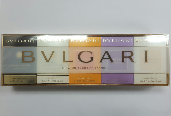 Bvlgari The Women's Gift Collection 5pcs Set