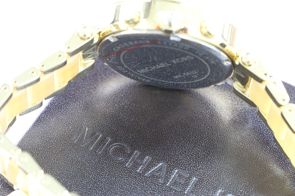 Michael Kors Two Tone Crystal Woman Watch