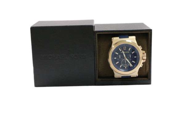 Michael Kors Navy Silicone Men's Watch