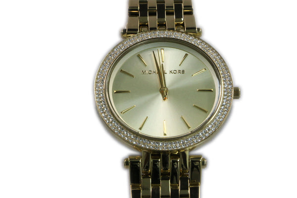Michael Kors Parker Glitz Gold tone Stainless Steel Ladies Watch