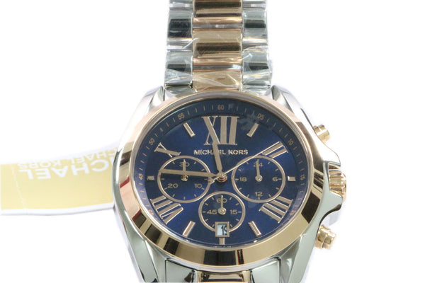 Michael Kors Chronograph Bradshaw Two Tone Stainless Steel Watch