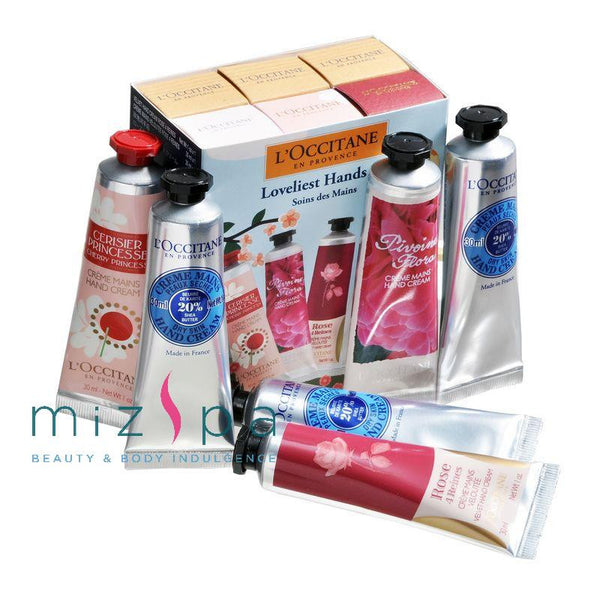 LOccitane Loveliest Hands Kit 6 Pcs