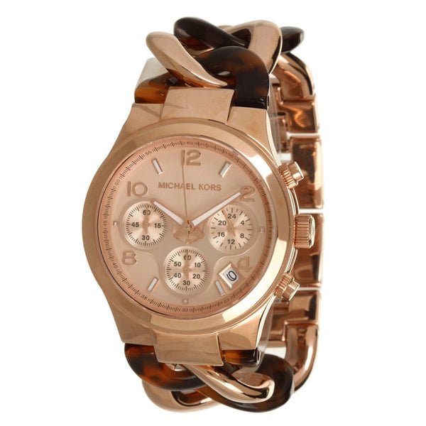Michael Kors Runway Chronograph Rose Gold Tone