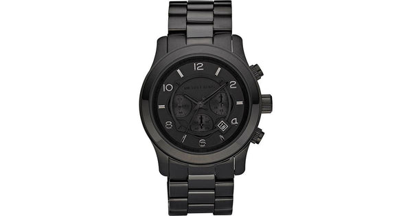 Blacked Out Runway Chronograph Mens Watch