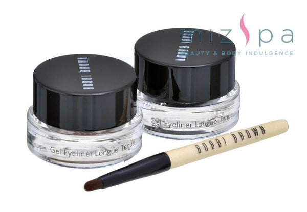 Bobbi Brown Longwear Gel Eyeliner Duo (2 Pcs Set)
