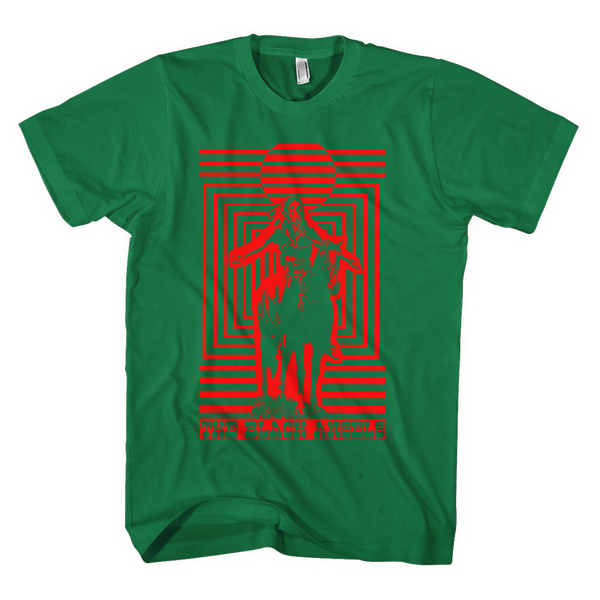 The Black Angels - Horse Rider Green T-Shirt