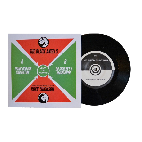 "The Black Angels & Roky Erikson - 7"" Vinyl"