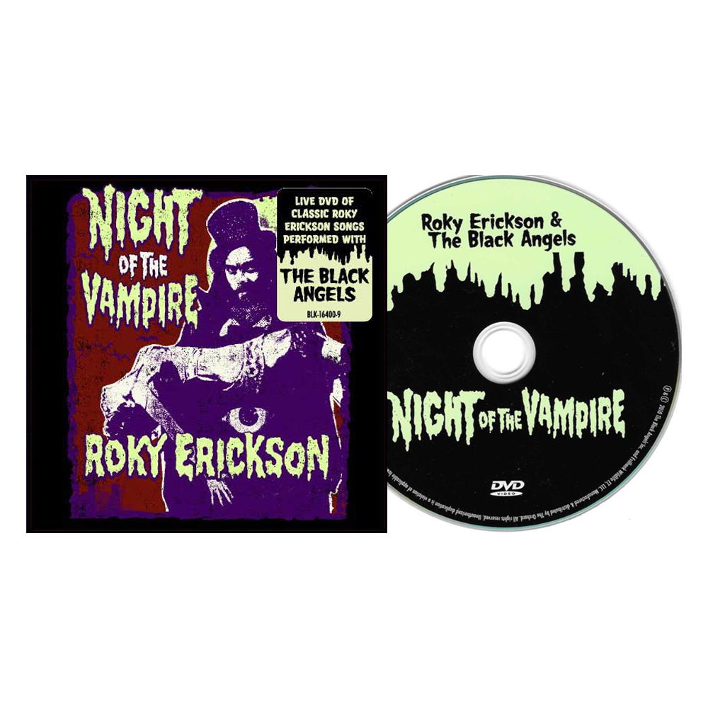Roky Erickson & The Black Angels - Night of the Vampire DVD