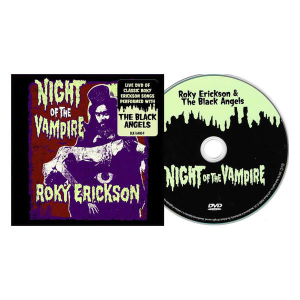 Roky Erickson & The Black Angels - Night of the Vampire - DVD