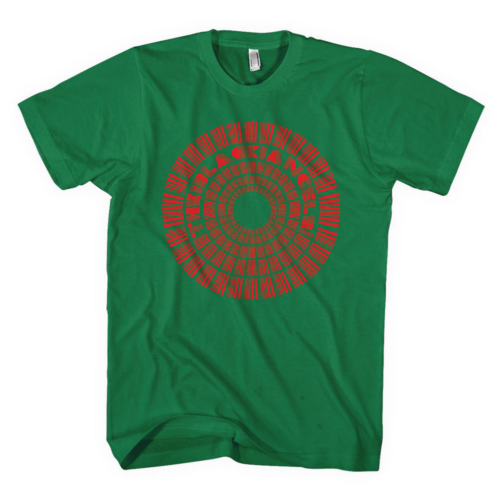 The Black Angels - Directions T-Shirt - Green