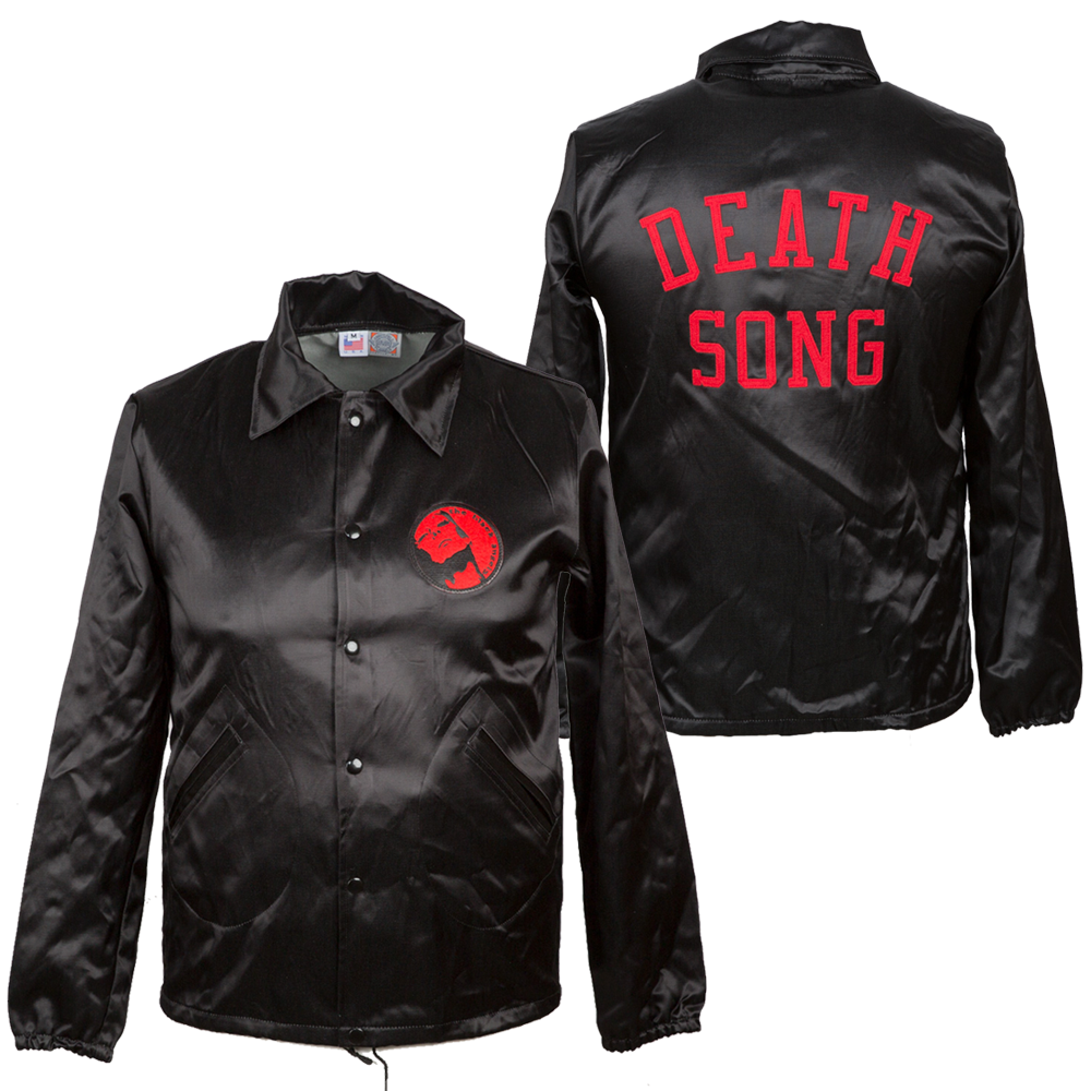 The Black Angels - Death Song Satin Jacket by Ebbet's