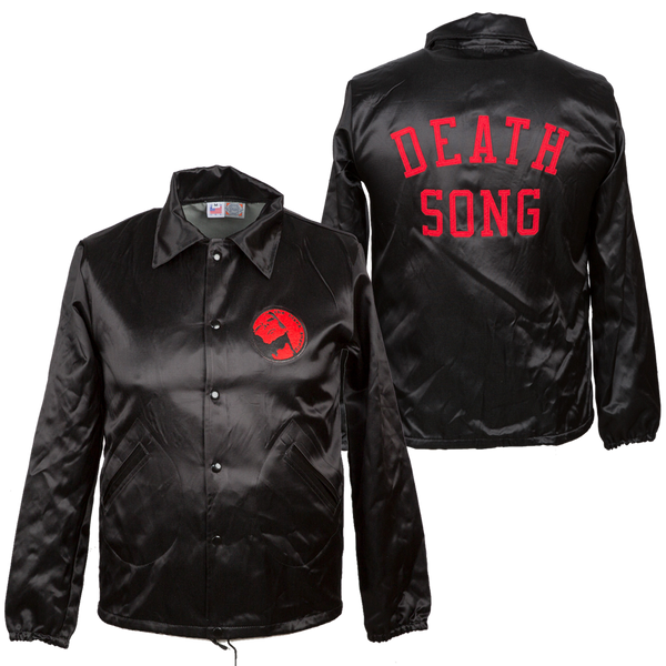 The Black Angels - Death Song Satin Jacket by Ebbets