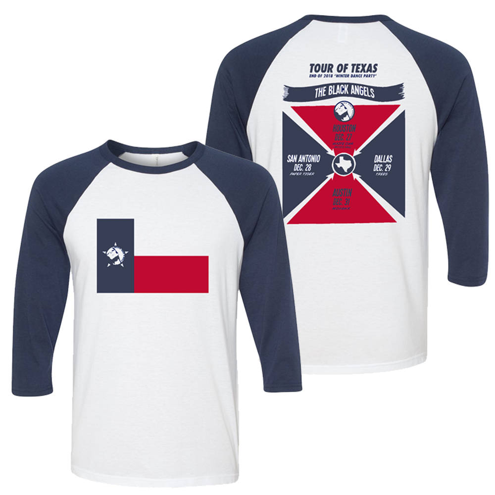 The Black Angels - 2018 Tour of Texas Raglan