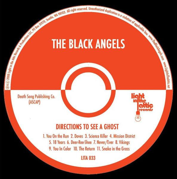 The Black Angels - Directions to See a Ghost - Digital Download