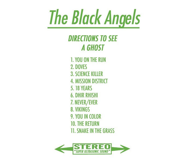 The Black Angels - Directions to See a Ghost 3LP
