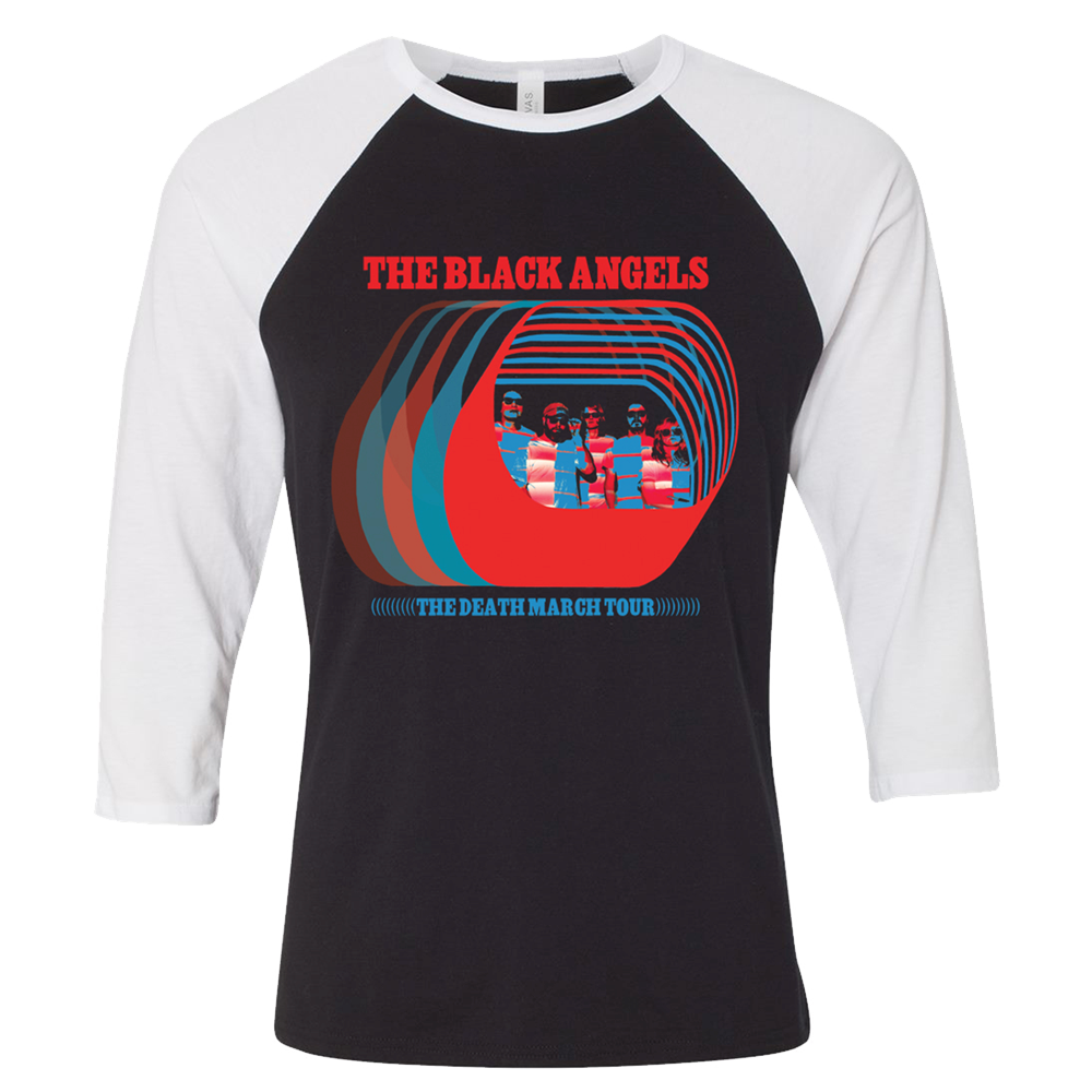 The Black Angels - 2017 Tour Raglan