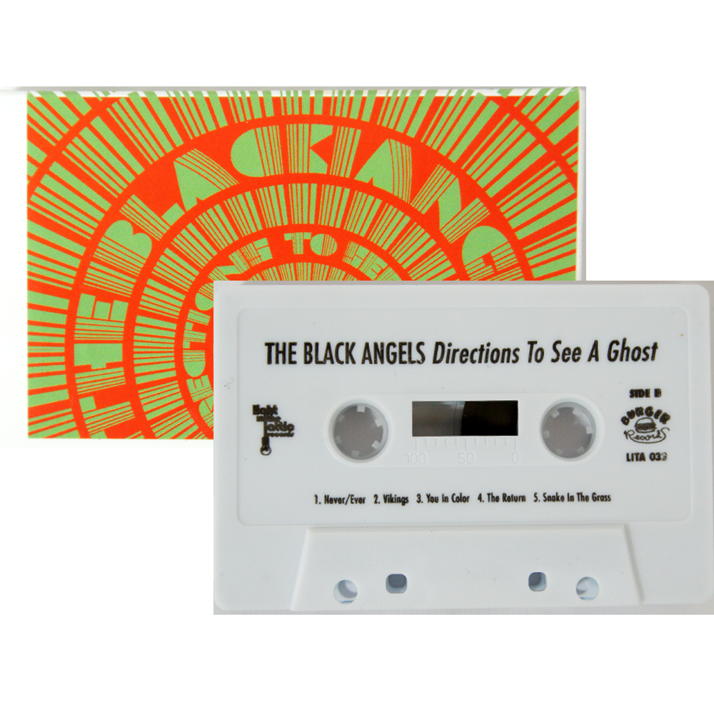 The Black Angels - Directions to See a Ghost Cassette