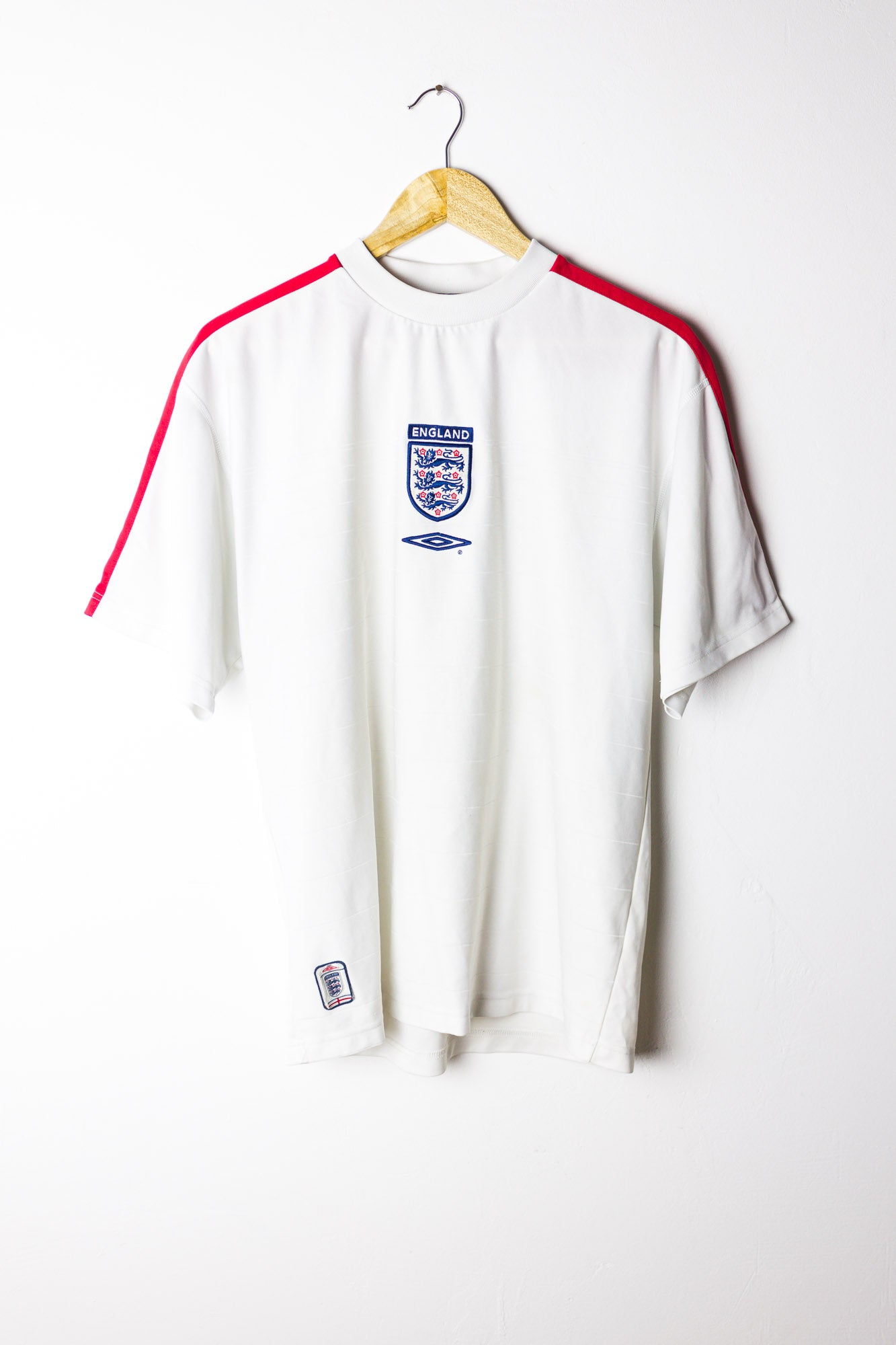 Vintage England Football Shirt Size L