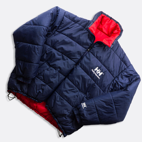 Vintage Helly Hansen Reversible Puffer Jacket Size XL