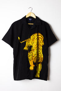 Vintage Tiger Graphic Shirt Size M