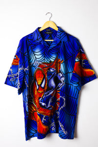 Vintage Spiderman Graphic Shirt Size XL