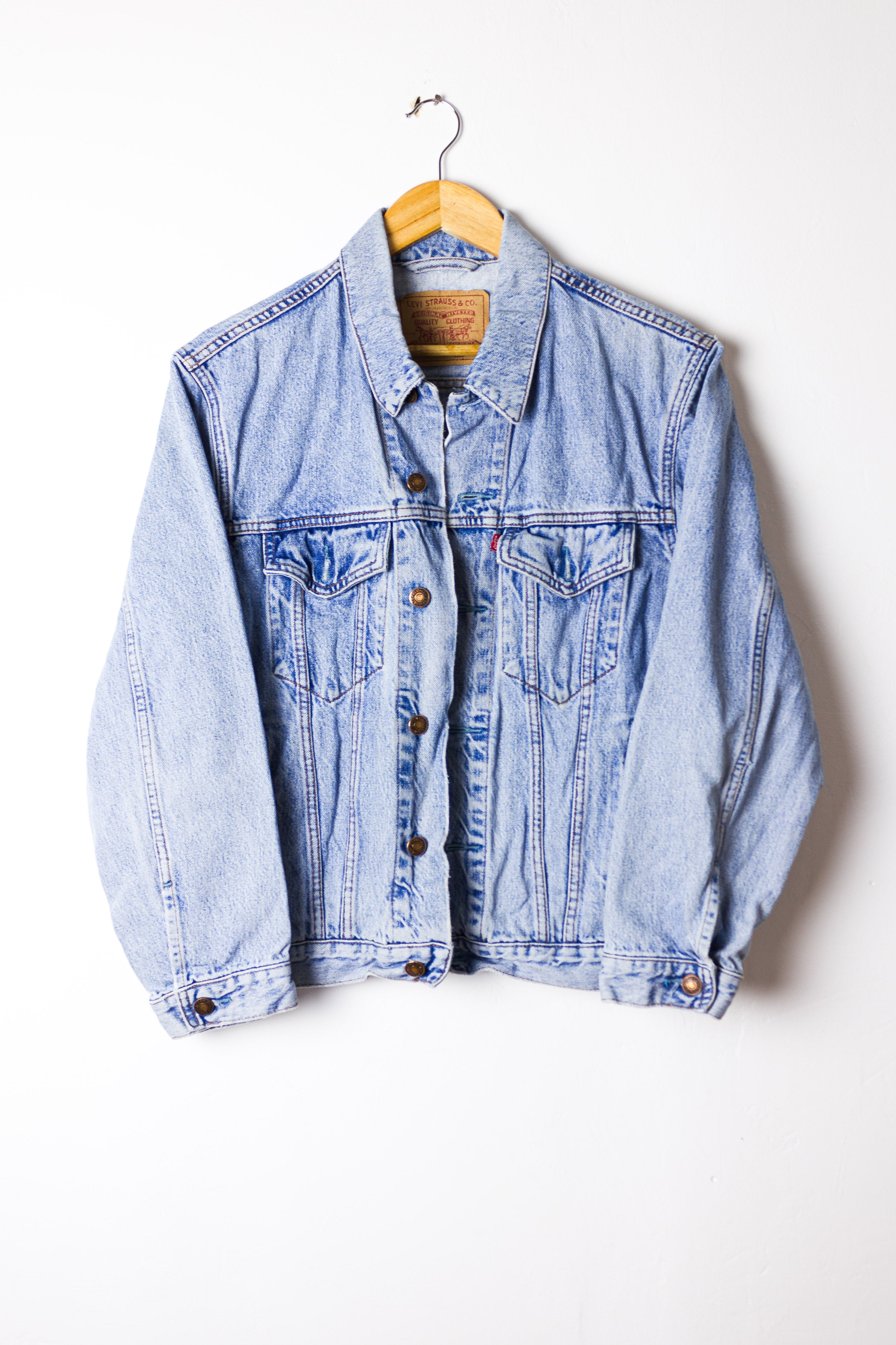 Vintage Levis Denim Jacket Size S