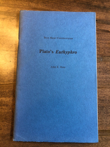 Plato's Euthyphro (Bryn Mawr Commentaries)