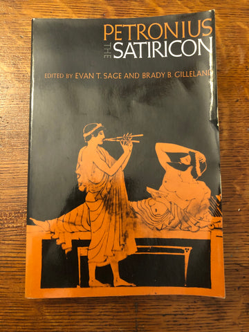 Petronius: the Satiricon (ed. Sage and Gilleland)