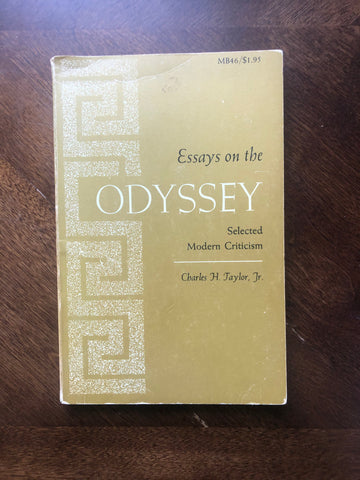 Essays on the Odyssey: Selected Modern Criticism