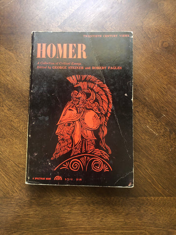 Homer: A Collection of Critical Essays
