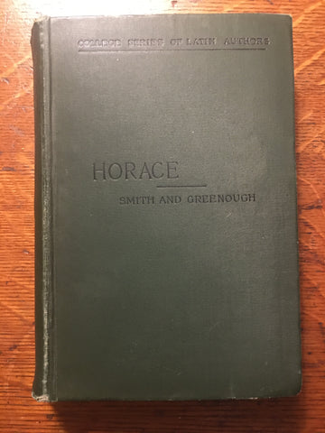 Horace [Smith and Greenough]