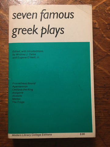 Seven Famous Greek Plays