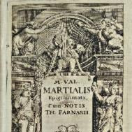 Intermediate-Advanced Latin Reading: Martial's Epigrams
