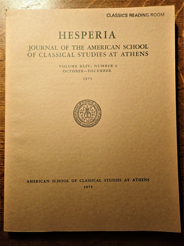 Hesperia: Vol. 45, No. 2: 1976