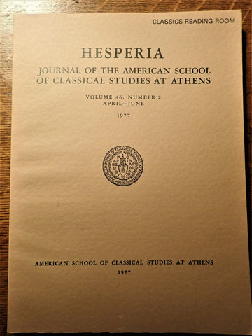 Hesperia: Vol. 46, No. 2: 1977