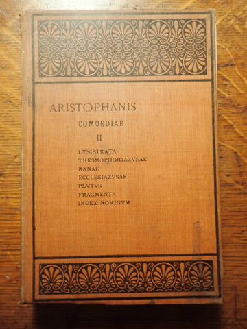 Aristophanis Comoediae Vol. II [Oxford Text]