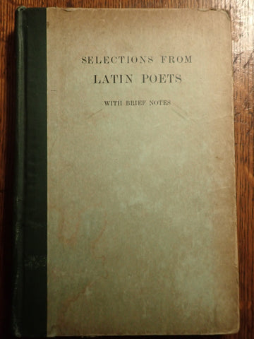 Latin Poetry [Harvard University]
