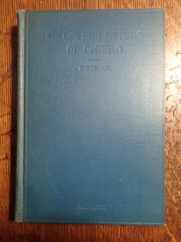 Selected Letters of Cicero [Poteat]