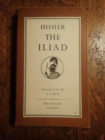 Homer: The Iliad [Rieu/Penguin]
