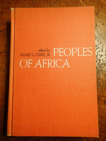 Peoples of Africa