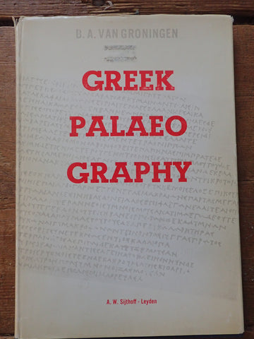 Greek Palaeography