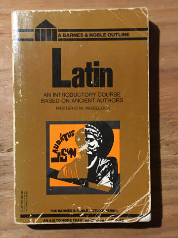 Latin: An Introductory Course