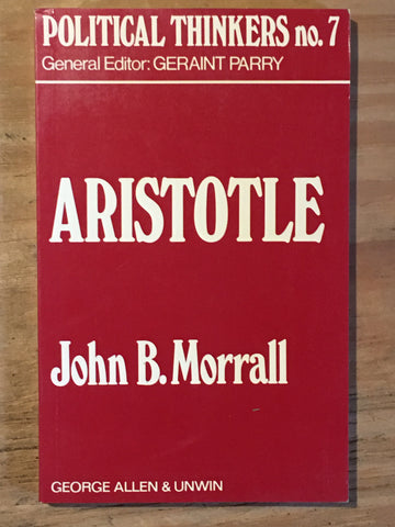 Political Thinkers no. 7: Aristotle